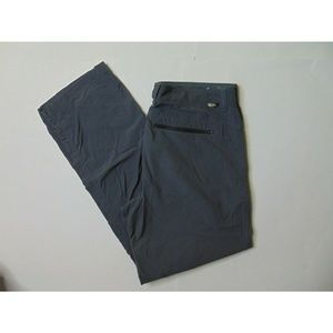 North Face 34 x 32 Lightweight Gray Hiking Pants